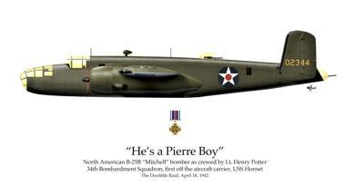 Mollison B-25 bomber
