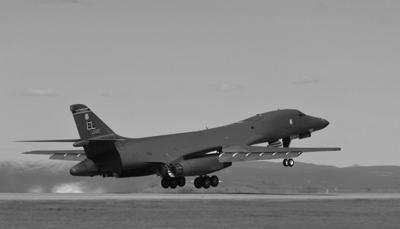 Photo of b1-b from ellsworth