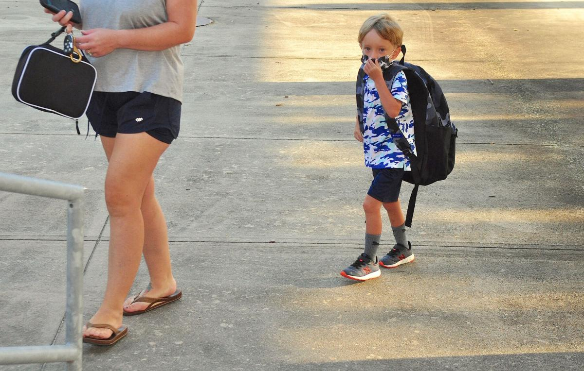 Kindergartners, pre-K youngsters kick off 2021-22 academic year