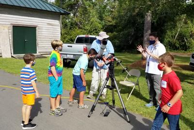 Core Sound Waterfowl Museum holds 'Awesome Astronomy Days (and Nights)' for elementary children