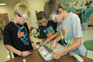 Inventive minds get to work at camp