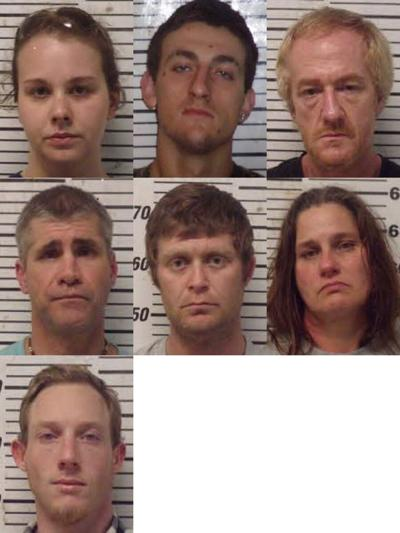 Sheriff's office arrests 7 after community tips lead to drug bust