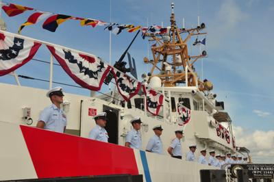 US Coast Guard honors Stacy-born Glen Harris with cutter  bearing his name