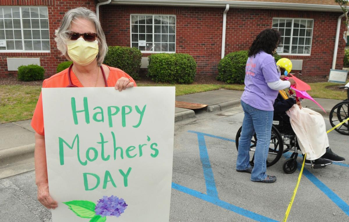 Mother's Day parade brightens day of Crystal Bluffs residents, families