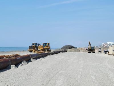 Emerald Isle nourishment project headed toward erosion 'hot spot'