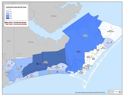 Carteret County reports additional COVID-19 case