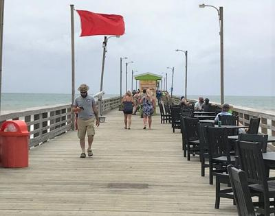 Bogue Inlet Pier to open Friday, announces parking fee changes