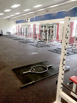 NEW WEIGHT ROOM
