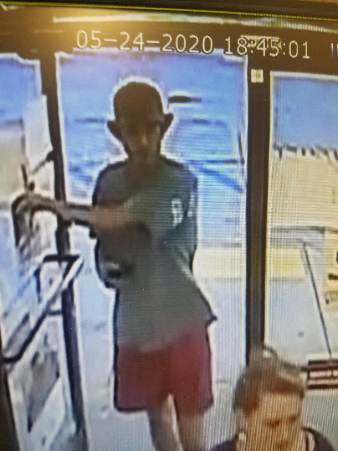 ABPD seeks information on suspect who fired shot outside gas station