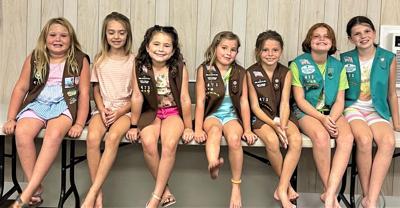 Cedar Island Girl Scout Troop 473 earns 2020-21 Daisy's Dozen Elite Status Award