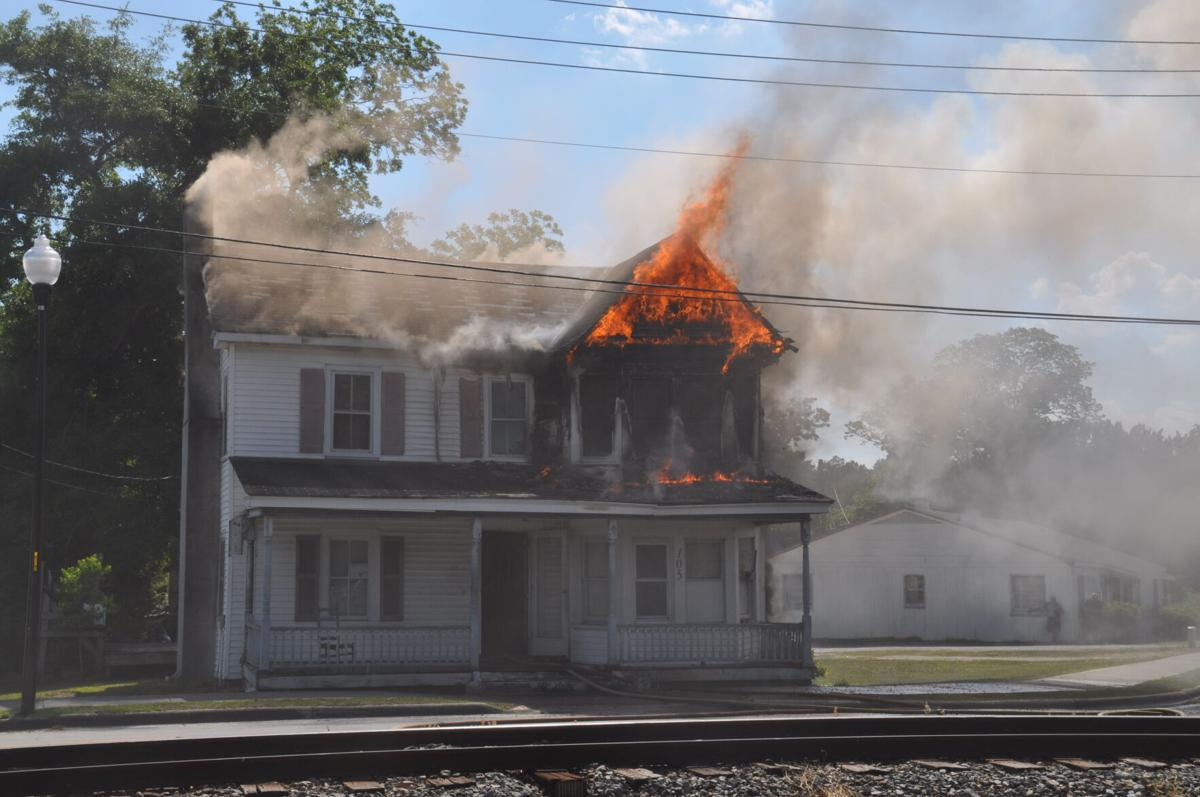 No injuries reported in house fire on Howard Boulevard Sunday