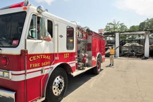 Donation aids fire department updated news times news truck arrives publicscrutiny Choice Image