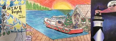 Carteret County Schools announces Christmas card contest winners