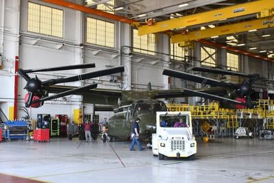 FRC East takes on V-22 workload for presidential support squadron