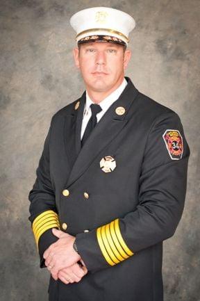 Atlantic Beach Fire Chief Adam Snyder