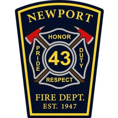 NEWPORT FIRE AND EMS LOGO