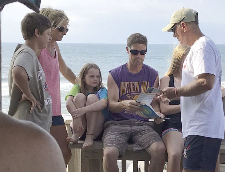 Emerald Isle resident kicks off ocean safety, rip current campaign