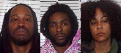 Authorities arrest 3 on meth trafficking charges