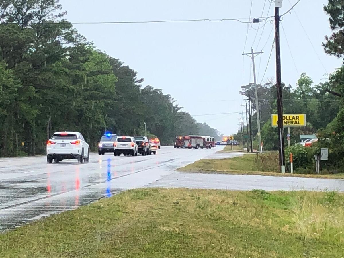 Officials close down Highway 24 for standoff with suspect