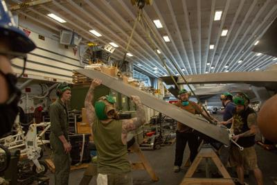Fleet Readiness Center East team meets maintenance needs in dual deployments