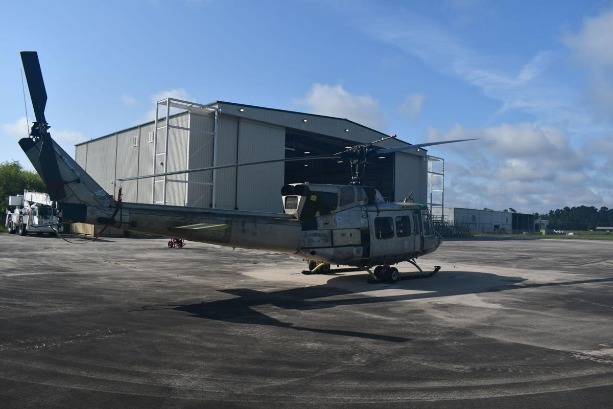 FRC East Kinston operation completes first UH-1N Huey helicopter repair