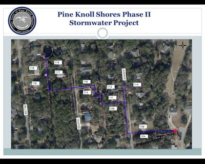 Pine Knoll Shores stormwater drainage project going to bid in July