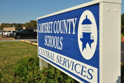 CARTERET COUNTY SCHOOLS SIGN (NEW)