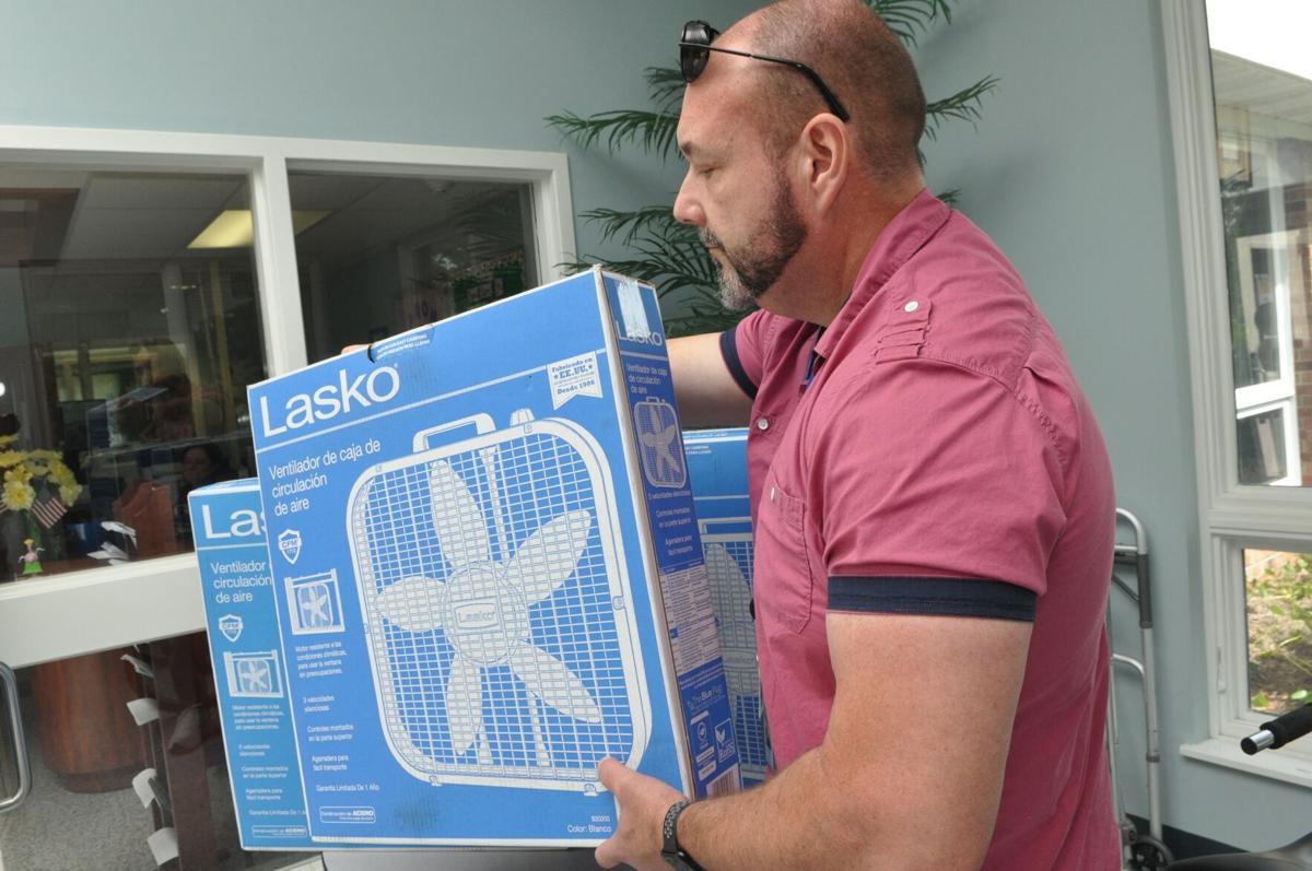 Carteret County Aging Services offers fans to seniors to beat summer heat