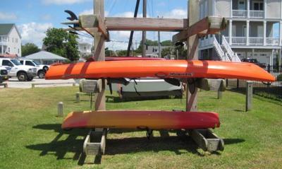 Cape Carteret officials eye kayak racks for 2 town parks