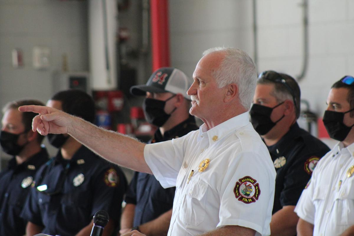 GALLERY: Beaufort dedicates newest fire engine