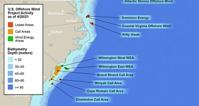 Federal bureau, US Army Corps of Engineers look to support more offshore wind energy