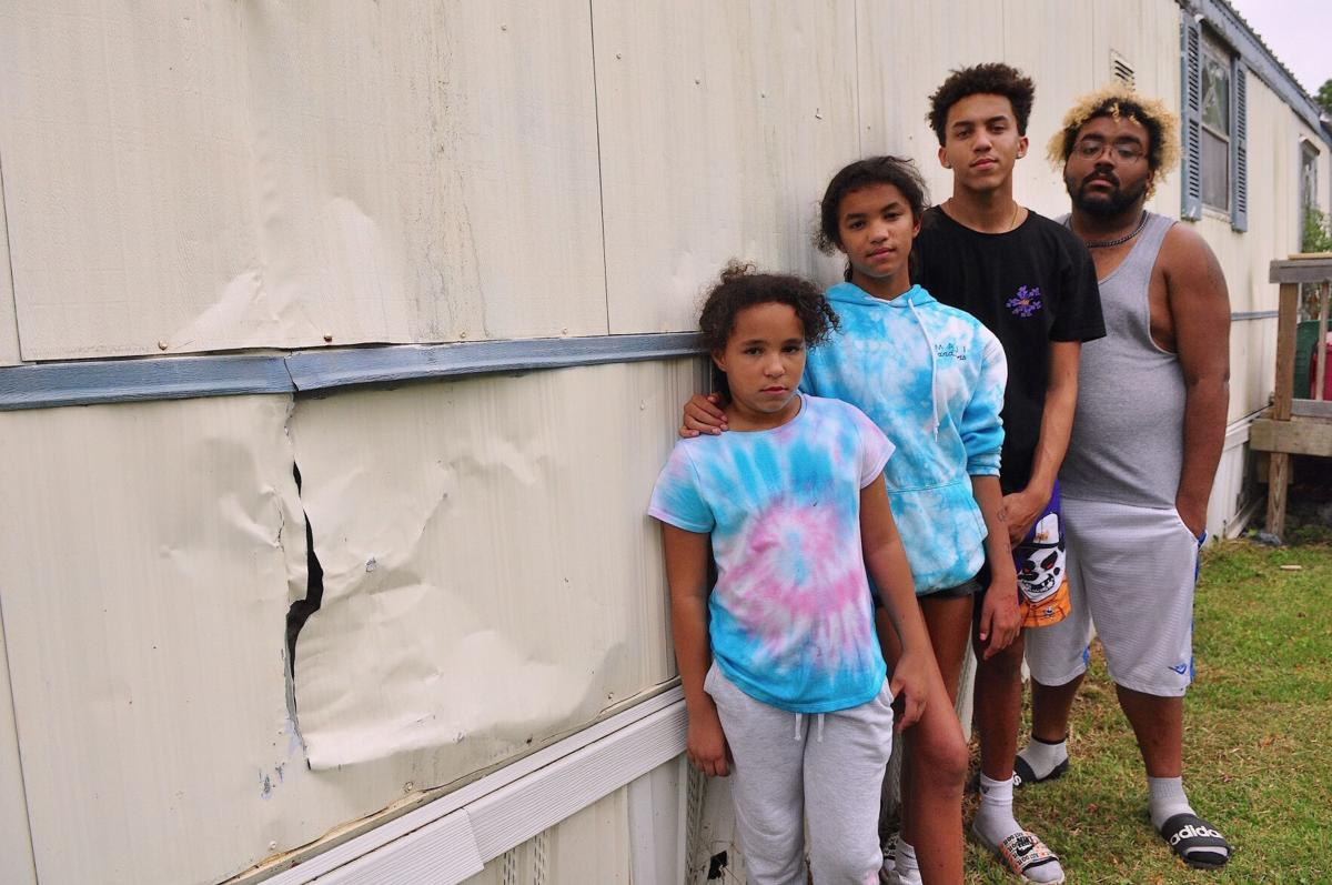 Three years on, hundreds of families still wait for repairs after damage from Hurricane Florence