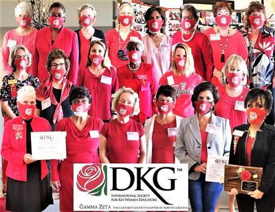 Delta Kappa Gamma holds reception, induction