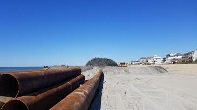 Emerald Isle beach nourishment project gears up; 2 dredging projects set to go