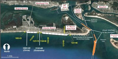 Port dredging, nourishment along Atlantic Beach to start in December
