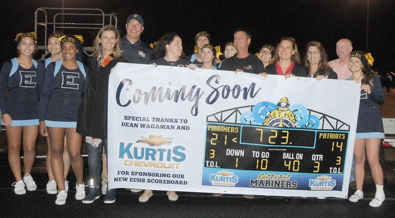 kurtis chevrolet owner donates 41 000 for new east scoreboard sports. Black Bedroom Furniture Sets. Home Design Ideas