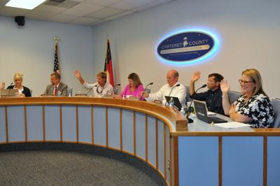Carteret County school board approves revamped budget revision