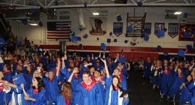 Community honors West Carteret High School's resilient class of 240 on graduation night
