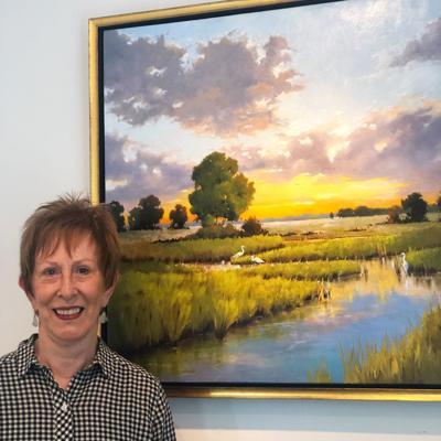 Mattie King Davis Art Gallery welcomes Lynda Harris