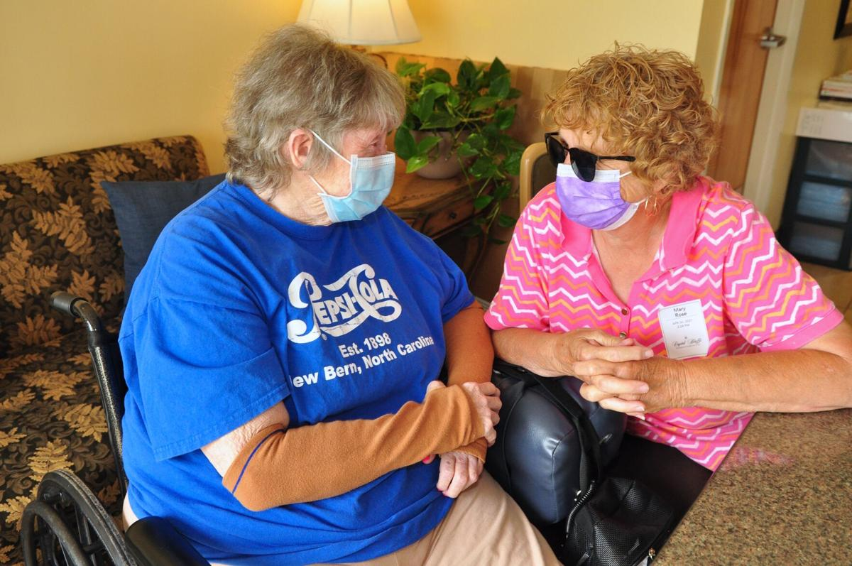 Families reunited as long-term care facilities open for in-person visitation
