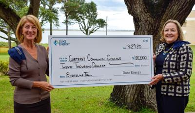 Duke donates funds to CCC for walking trail