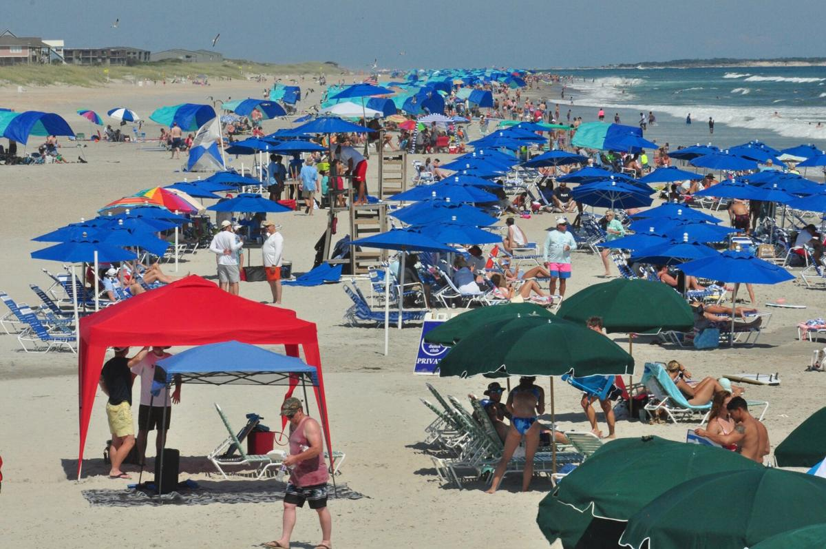 Record crowds flock to Carteret County for Fourth of July holiday weekend