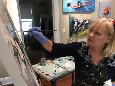 Heather Sink paints