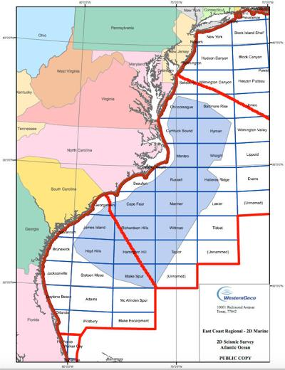 State officials consider appeal of BOEM decision to allow seismic survey