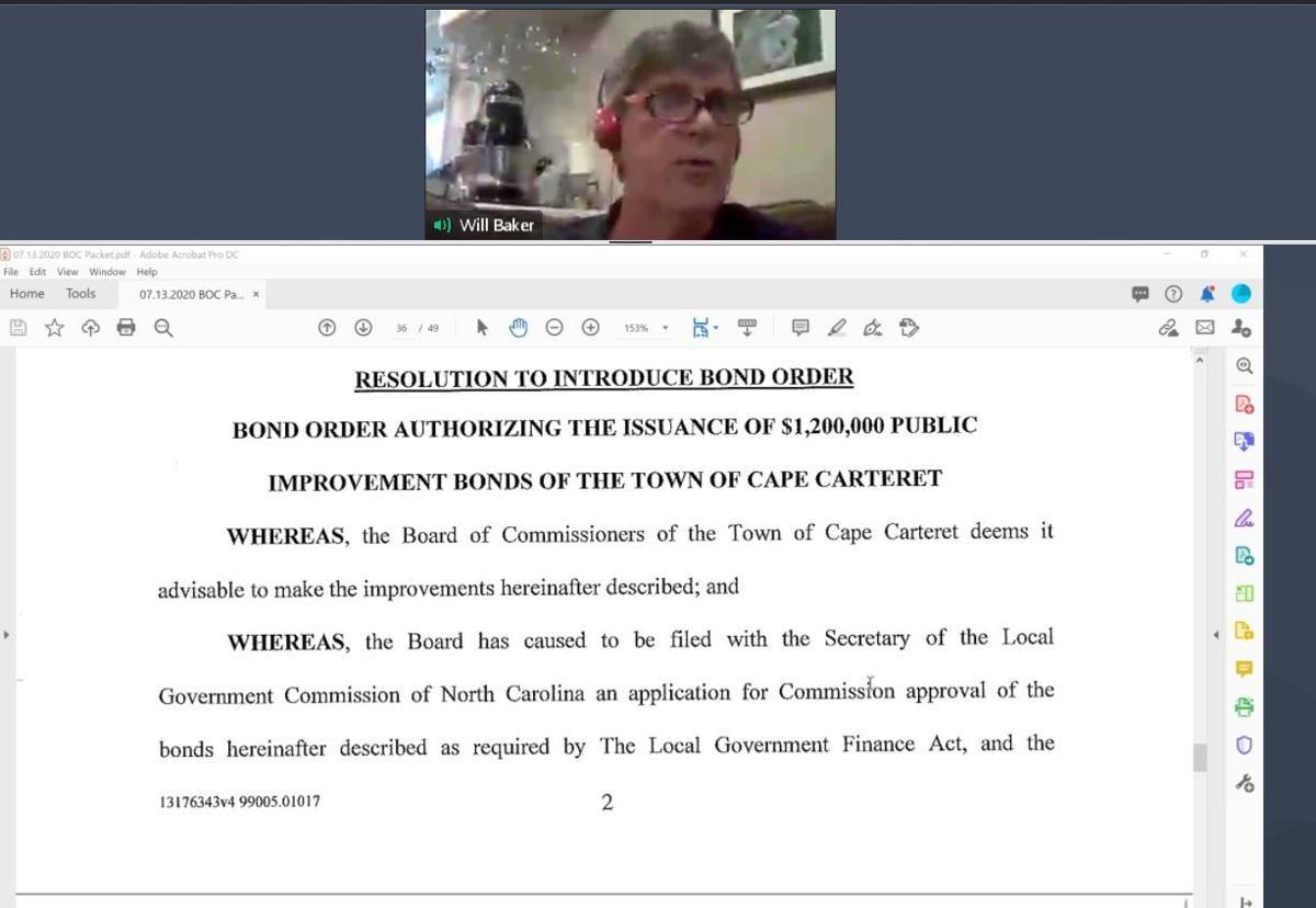 Cape Carteret OKs resolutions for hearing on bond referendum proposal
