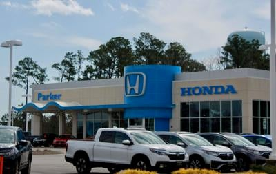 Parker Honda receives 2020 president's award for business excellence