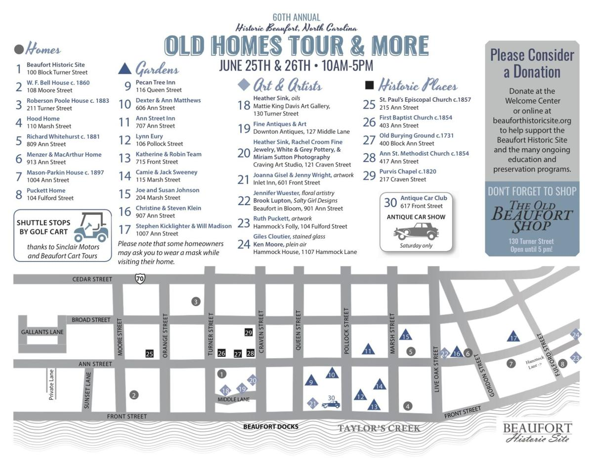 Old Homes Tour and More returns to historic Beaufort