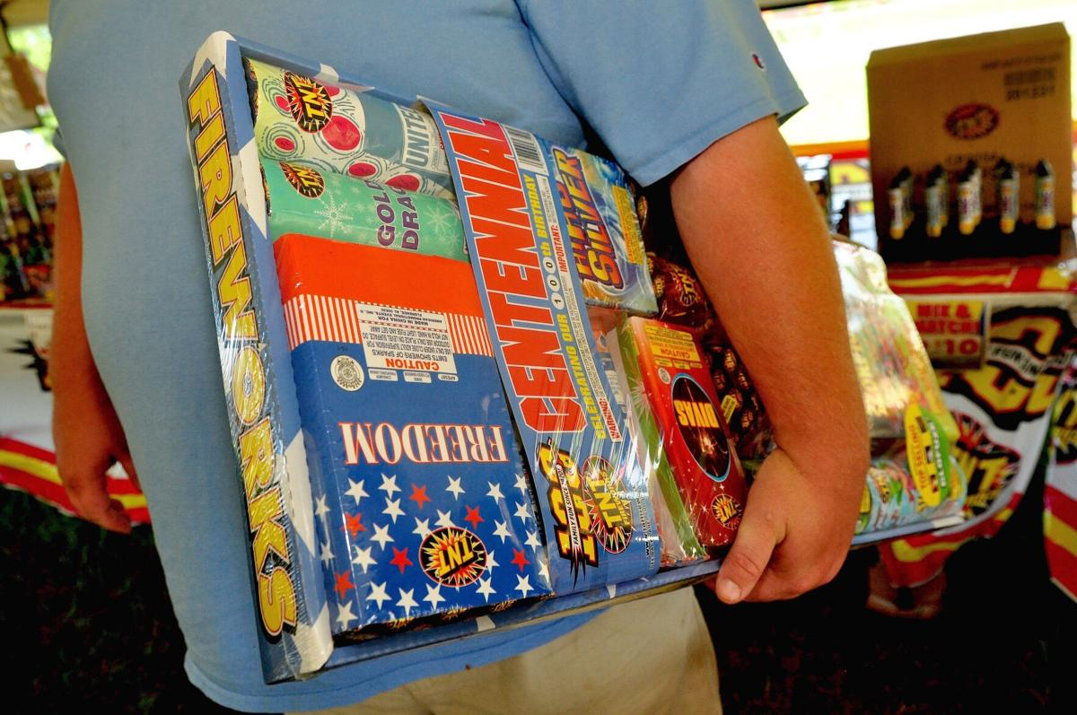 Officials urge safety during Fourth of July home firework celebrations