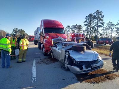 Tractor-trailer accident