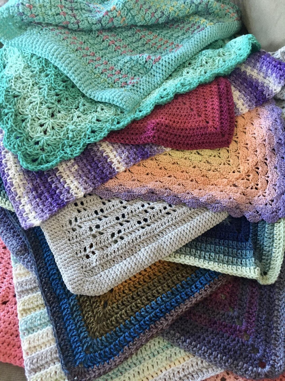 Atlantic Beach woman crochets baby blankets for newborns throughout pandemic